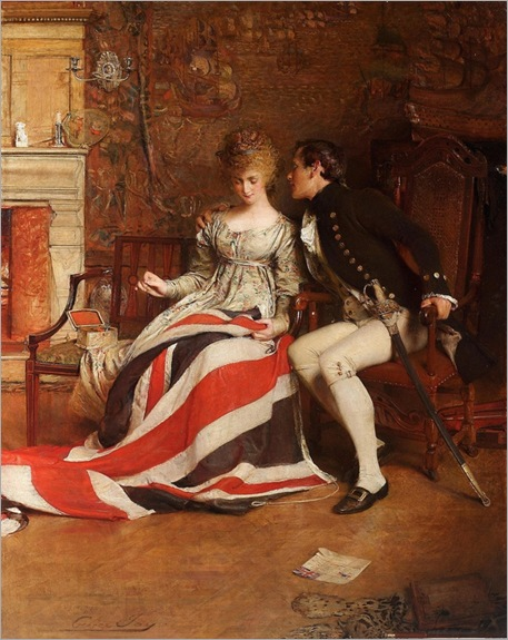 George William Joy (1844 - 1925) - The First Union Jack, 1893