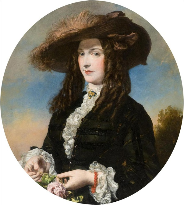 JamesSant_Portrait_of_a_lady_in_a_feathered_hat