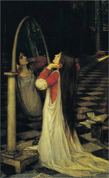 Mariana in the south, c. 1897_by-John-William-Waterhouse