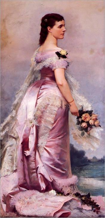 Marie Henriette of Austria by Louis Gaillat