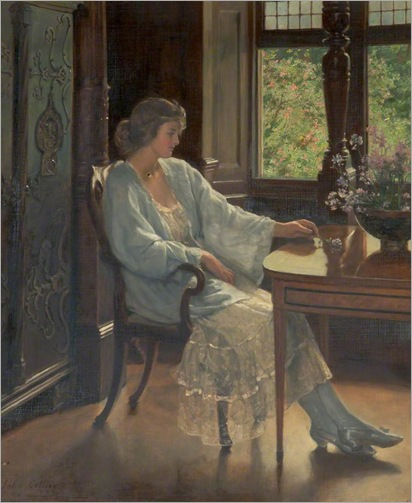 Meditation, 1921- by John Collier