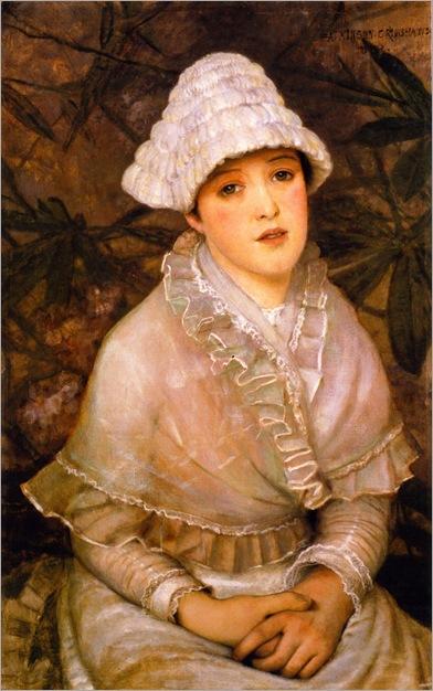 my-wee-white-rose-1882-John Atkinson Grimshaw