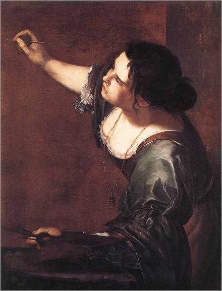 Self-Portrait as the Allegory of Painting (1630s). Artemisia Gentileschi (Baroque, 1593_1652-53)
