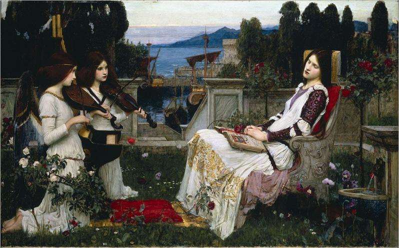 1280px-Waterhouse,_John_William_-_Saint_Cecilia_-_1895