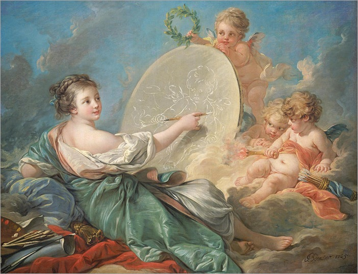 allegory-of-painting-francois-boucher