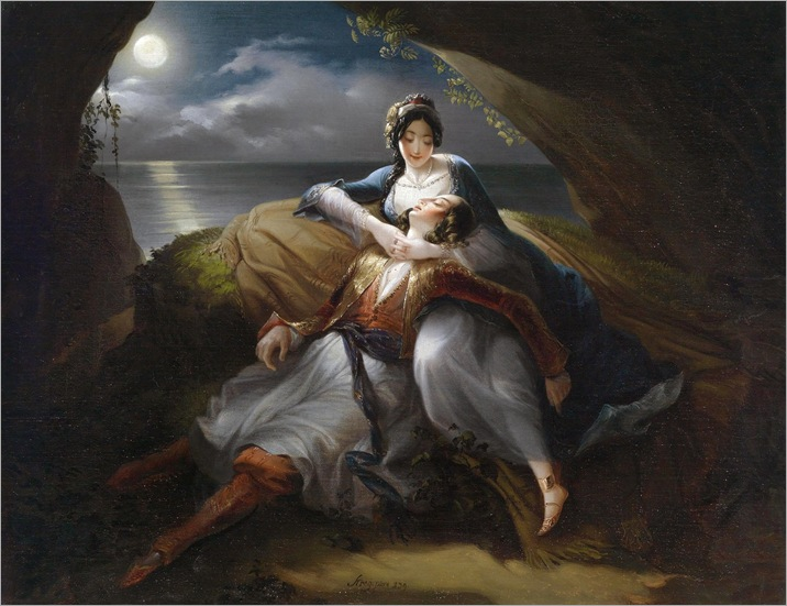 Angelica and Medor - Mihael Stroj-1833