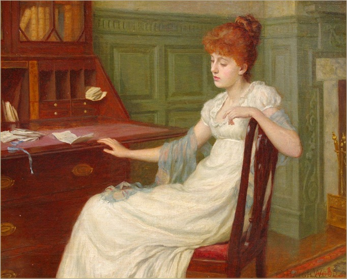 Charles Haigh-Wood - Reflective Thoughts