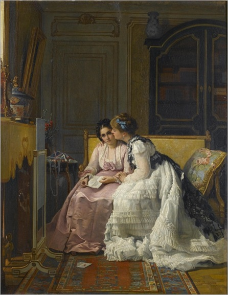 Charles-Louis-Baugniet-the-love-letter_600x777