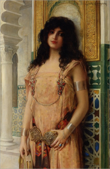 Comerre_Leon_Francois_An_Eastern_Beauty (2)