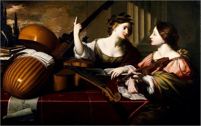 divine inspiration of music - Nicolas Regnier