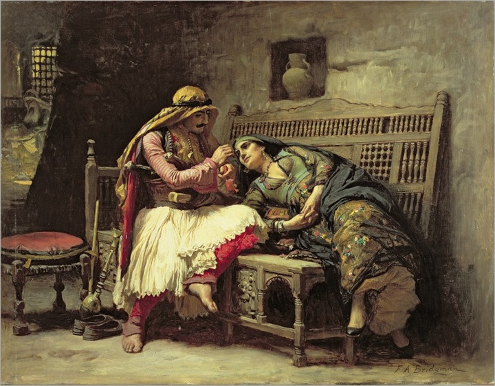 frederick-arthur-bridgman-queen-of-the-brigands