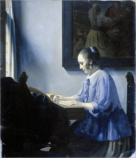 Han van Meegeren - Woman Reading a Letter