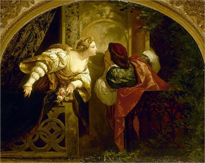 Henri Pierre Picou (1824-1895)-Romeo and Juliet
