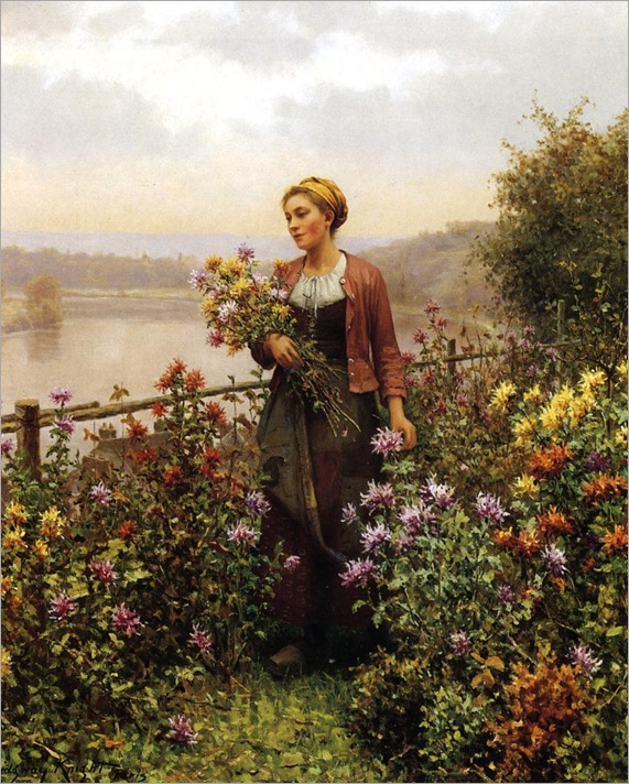 Knight_Daniel_Ridgway_Woman_in_a_Garden