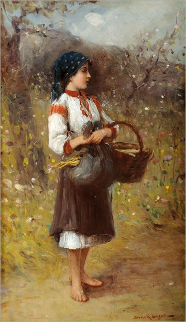 Lajos-Bruck_Girl_with_Basket