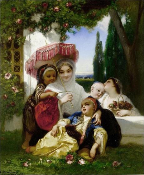 Louis Devedeux (1820-1874)_Les Enfants du Prince