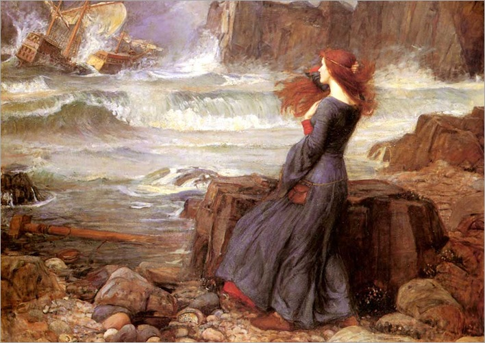 Miranda_-_The_Tempest by JohnWilliamWaterhouse