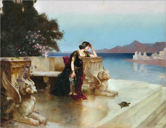 Rudolf Ernst (1854-1912) Penelope