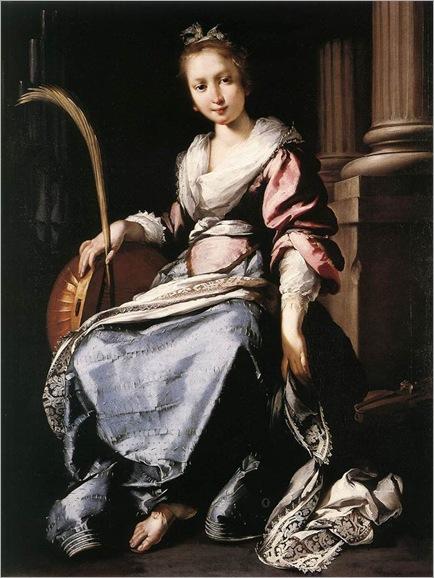 st.cecilia-Bernardo-Strozzi(1581-1644)