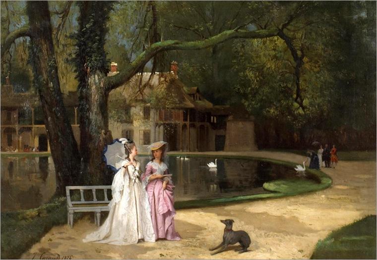 the promenade-Joseph Caraud