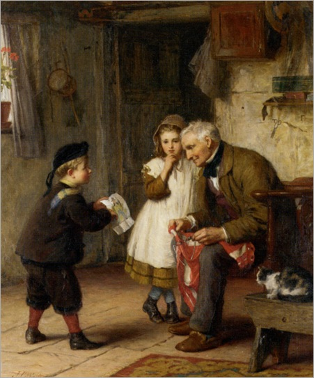 Waite_James_Clarke_Surprise_For_Grandfather_1873