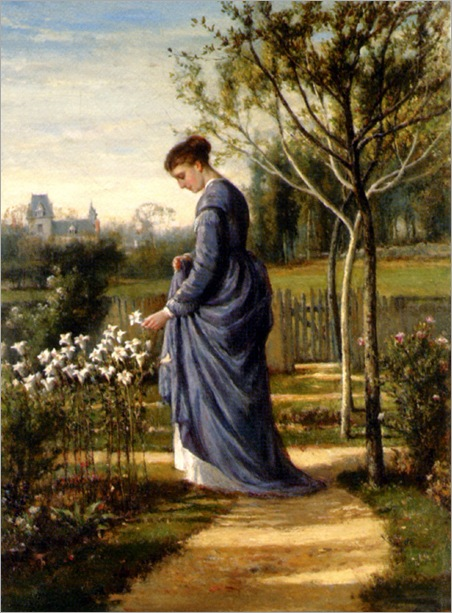 WilliamMarkFisher_in_the_garden