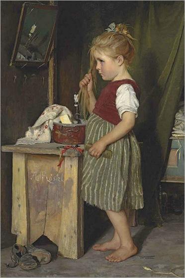Agathe Röstel - The Little Beauty (1896)
