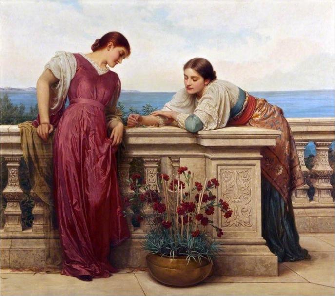 Dolce Far Niente, Charles Edward Perugini