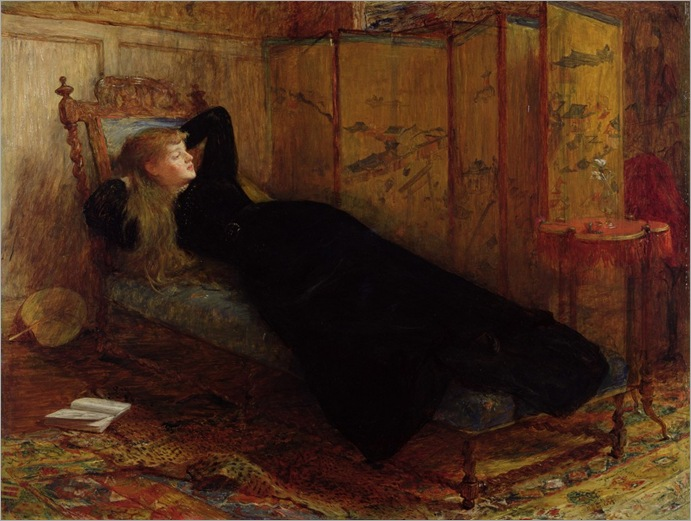 Dolce Far Niente - William Quiller Orchardson