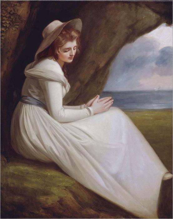 Emma Hart as Ariadne - George Romney-1785