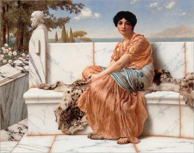 Godward-In_the_Days_of_Sappho-1904