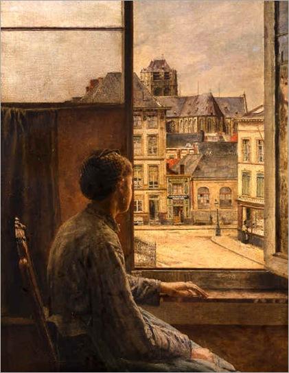 Henri de Braekeleer. Belgian (1840 - 1888)