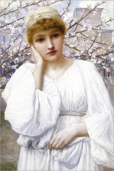 Henry Ryland (1856-1924)-La Primavera