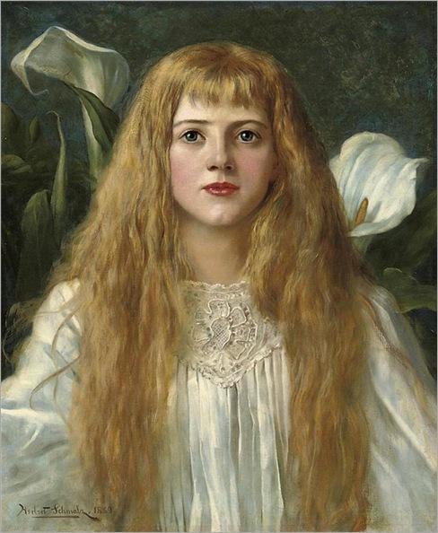 Herbert Gustave Schmalz-a beauty fair-1889