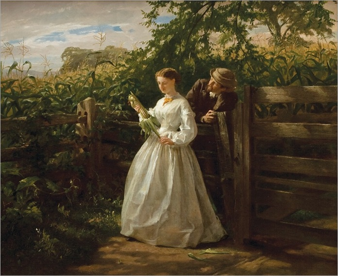 In the Ear - George Lambdin-1865