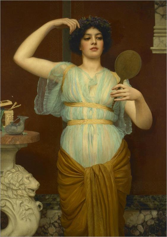 John William Godward (1861 - 1922) - Ione