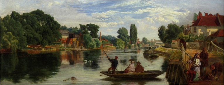 Knight_William_Henry_On_the_Thames_Staines_1859