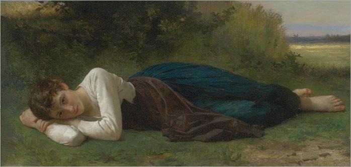 le-repos-Bouguereau