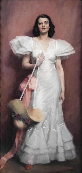 Portrait of a Woman - Aldor Janos Laszlo (hungarian)