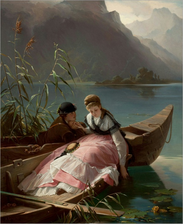 Rendezvous - Arthur Georg von Ramberg-1870