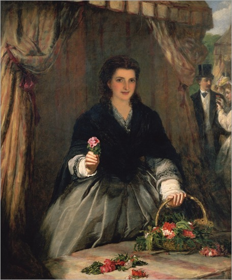 the-flower-seller-William-Powell-Frith