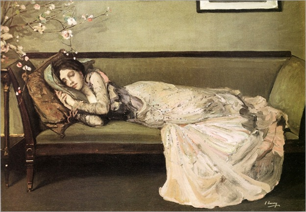 the-green-sofa-Sir-John-Lavery_800x554