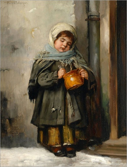 the milk jug-Marianne Preindlsberger-Stokes (1855-1927)