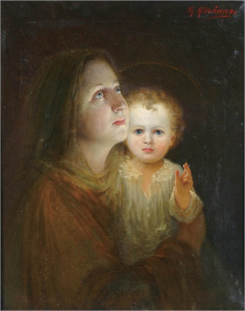 virgin-and-child-Theodore Kleehaas