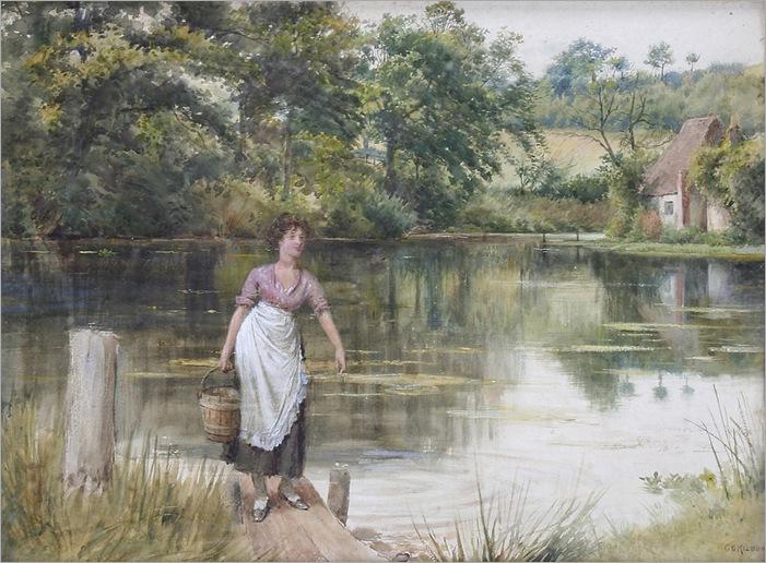 1024px-George_Goodwin_Kilburne_Fetching_Water