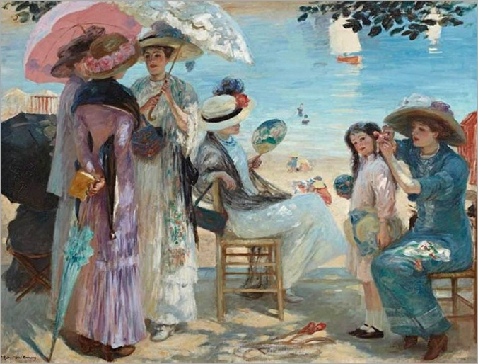 A Lovely Afternoon - Rupert Bunny