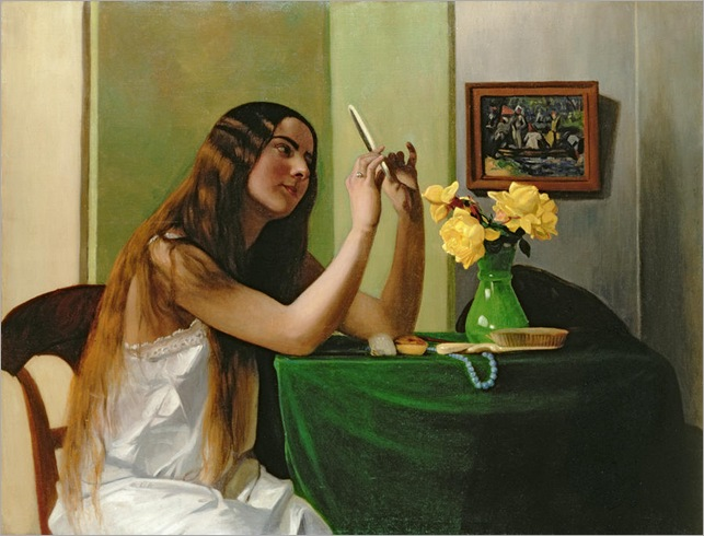 At the Dressing Table - Felix Edouard Valloton
