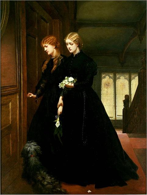 For the Last Time - Emily Mary Osborn-1864