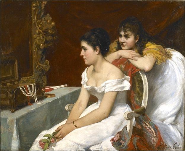 Gustave-Henri-Colin-la toilette