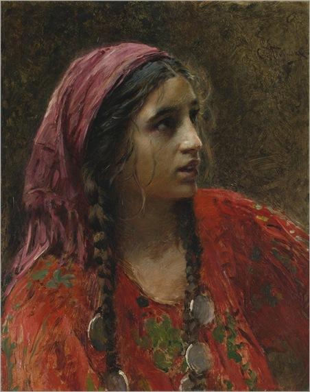 gypsy by Konstantin Makovsky
